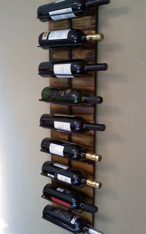 wall hanging wine rack wall hanging wine rack for 9
