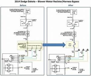 2001 Dodge Durango Blower Motor Resistor Wiring Harness