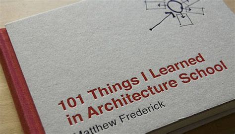 """101 Things I Learned In Architecture School"" Book Review"