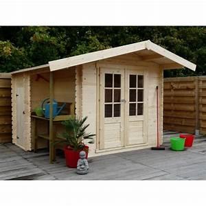Abri De Jardin Avec Bucher : abri en bois massif 5 66m avec plancher remise b cher ~ Dailycaller-alerts.com Idées de Décoration