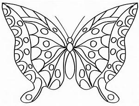Dessin Facile Papillon : papillon 123 animaux coloriages imprimer ~ Melissatoandfro.com Idées de Décoration