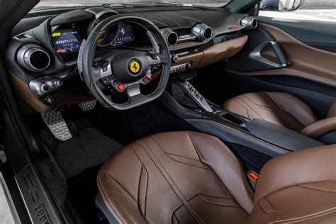 2020 ferrari 812 gts besides the gts badge and the minor changes above the waistline this drop top is pretty much identical to the 812 superfast. The Ferrari 812 GTS and the F8 Spider make their SEA debut
