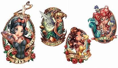 Disney Tattoos Princess Tim Pinup Shumate Tattoo