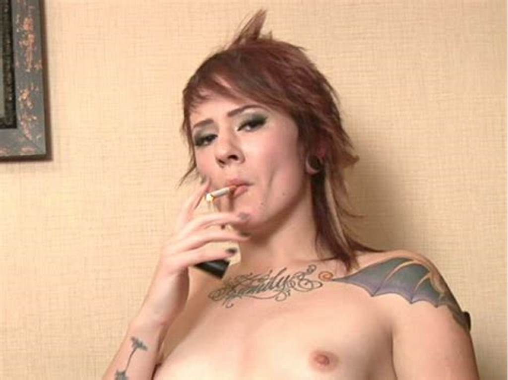 #Tattooed #Red #Haired #Teen #Sailor #Smoking #With #Lust #On #The