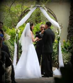 wedding arches rent miami real weddings arc de wedding arch canopy