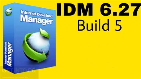 Internet download manager has had 6 updates within the past 6 months. IDM 6.27 Build 5 Free Download - Get Into Pc