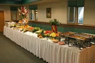 buffet table decorating ideas house experience