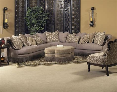 classic wellingsley sectional  fairmont designs