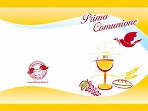 Biglietti Di Auguri Prima Comunione ZY81 Pineglen