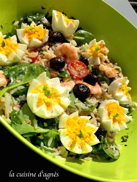 cuisine salade salade de riz au thon la cuisine d 39 agnèsla cuisine d 39 agnès