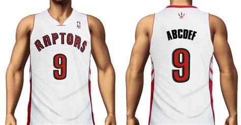 Create Toronto Raptors Jersey With Your Name And Number