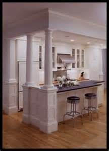 kitchen islands with columns 1000 images about columns on half walls kitchen islands and column design