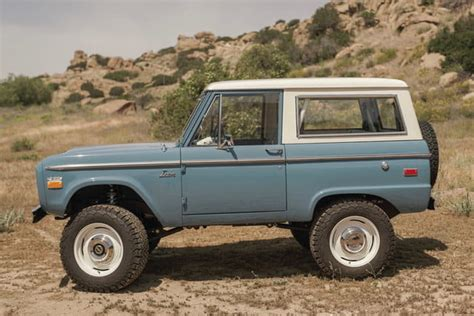 Icon Old School Br Is A 'brand-new' 1960s Ford Bronco