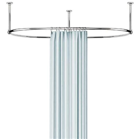 oval shower curtain rod oval shower curtain rod the loo store