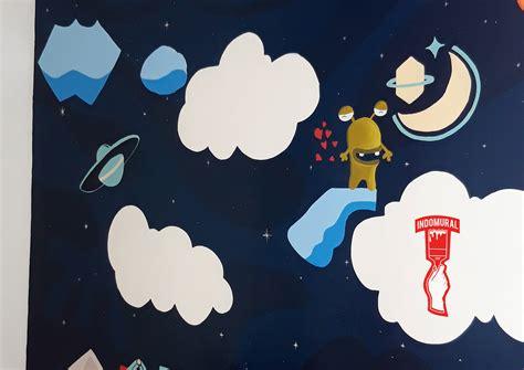 ide lukisan dinding kamar kartun sufi nadirah