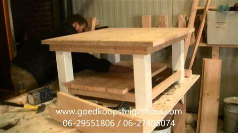 zelf een salontafel maken salontafel maken goedkoop steigerhout