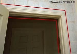 le chambranle d39une porte With renover porte en bois