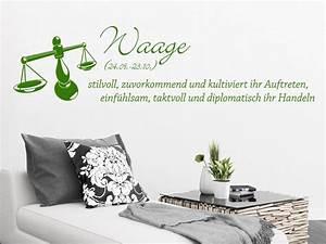 Zwilling Und Waage : wandtattoo sternzeichen waage bei ~ Orissabook.com Haus und Dekorationen