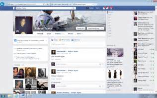 Here is an example of my personal Facebook page. As you can see on the ...