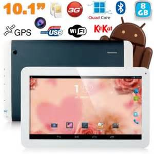 tablette tactile 10 pouces tablette tactile 10 pouces 3g sim wifi gps 8go bleu achat prix fnac
