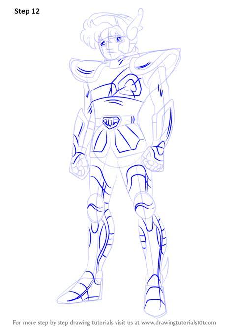 learn   draw pegasus seiya  saint seiya saint