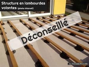 Lambourde Terrasse Composite : terrasse bois lambourde espacement diverses ~ Premium-room.com Idées de Décoration