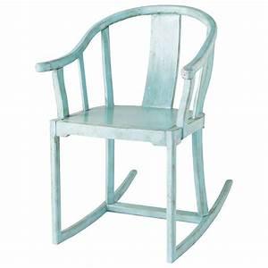 Rocking Chair Maison Du Monde : fauteuil enfant bleu mao maisons du monde ~ Teatrodelosmanantiales.com Idées de Décoration