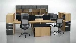 Bureau Moderne Design : groupe lacasse concepteur de mobilier de bureau moderne et audacieux youtube ~ Teatrodelosmanantiales.com Idées de Décoration