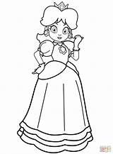 Daisy Coloring Princess Printable Cartoon Bubakids Relation Thousands Through sketch template