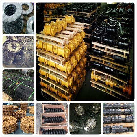 yellow case cx excavator top roller  excavator undercarriage parts