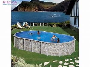 Piscine Ovale Hors Sol : piscine acier hors sol gr mykonos ~ Dailycaller-alerts.com Idées de Décoration