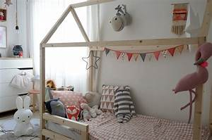 Cabane Chambre Fille : diy fabriquer un lit cabane pour enfant ~ Teatrodelosmanantiales.com Idées de Décoration