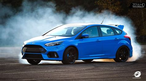ford focus rs track drift mode test