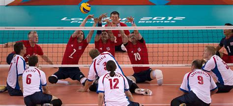 Paralympic Sitting Volleyball - overview, rules and ...