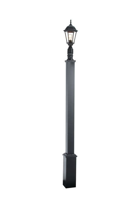 outdoor decorative pole lights imperial street lights outdoor l post with square