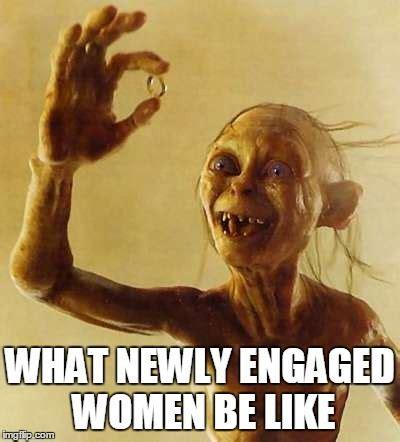 Wedding Ring Meme - funny gollum meme more funny wedding photos at www knotweddingday com funny wedding images