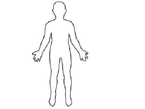Free Body Outline Cliparts, Download Free Clip Art, Free