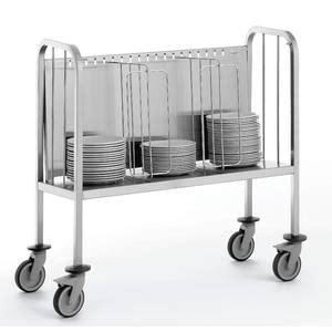 porte assiettes pour cuisine chariots porte assiettes et portes plateaux tous les