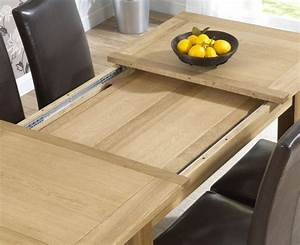 Extendable, Oak, Dining, Table, Homehighlight, Co, Uk