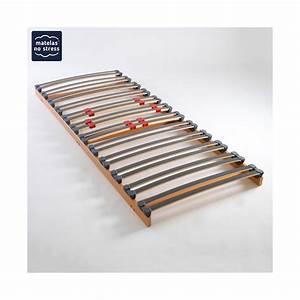 Sommier 90 X 200 : sommier plat encastrable 90 90x200 pour literie en 180x200 ~ Teatrodelosmanantiales.com Idées de Décoration