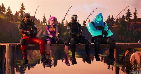 fortnite  holding  fishing competition polygon