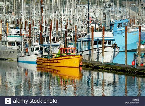 Free Boats Oregon by Fishing Boats Port Of Newport Oregon Usa Stock Photo