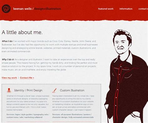 great   page design examples pixel curse