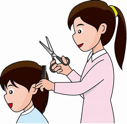 Haircut Clipart Hair Cut Hairdresser Transparent Clip