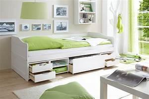 Bett 90x200 Weiß Massiv : kojenbett sofabett 90x200 g stebett funktionsbett real ~ Bigdaddyawards.com Haus und Dekorationen