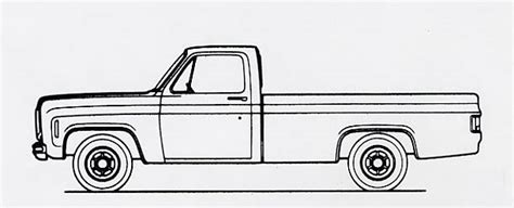 drawn truck chevy pencil   color drawn truck chevy