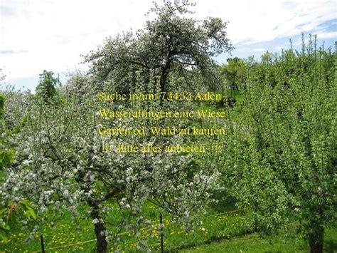 Garten Kaufen Aalen by Suche Garten Grundst 252 Ck Wiese Oder Wald In Um 73433 Aalen