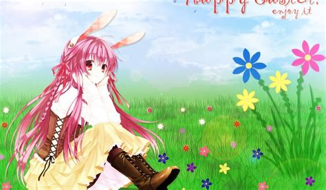 Easter Anime Wallpaper - anime easter wallpapers happy easter 2018