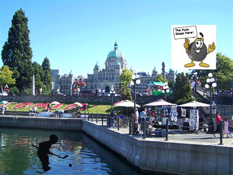 Vancouver Island Travel And Tourism Victoria Hosts Hockey