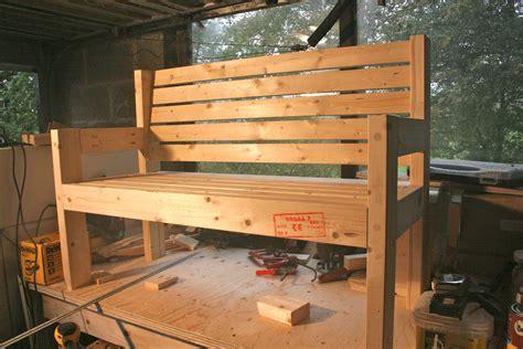 simple garden bench plans diy furniture projects garden